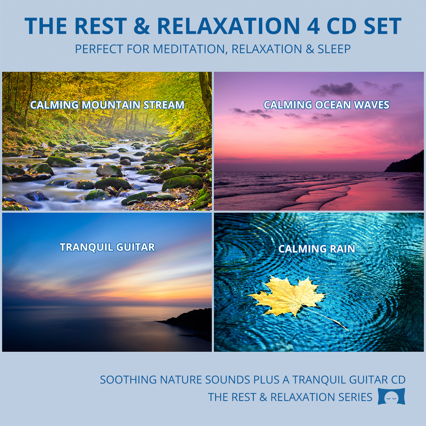 The Rest & Relaxation 4 Album Set - Perfect For Meditation